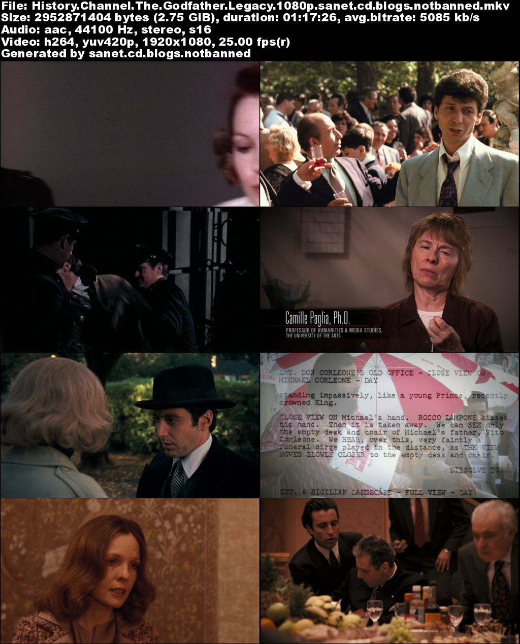 History Channel - The Godfather Legacy (2012) 1080p WEB h264-UNDERBELLY