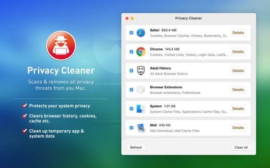 Privacy Cleaner 1.2 (MaOSX)