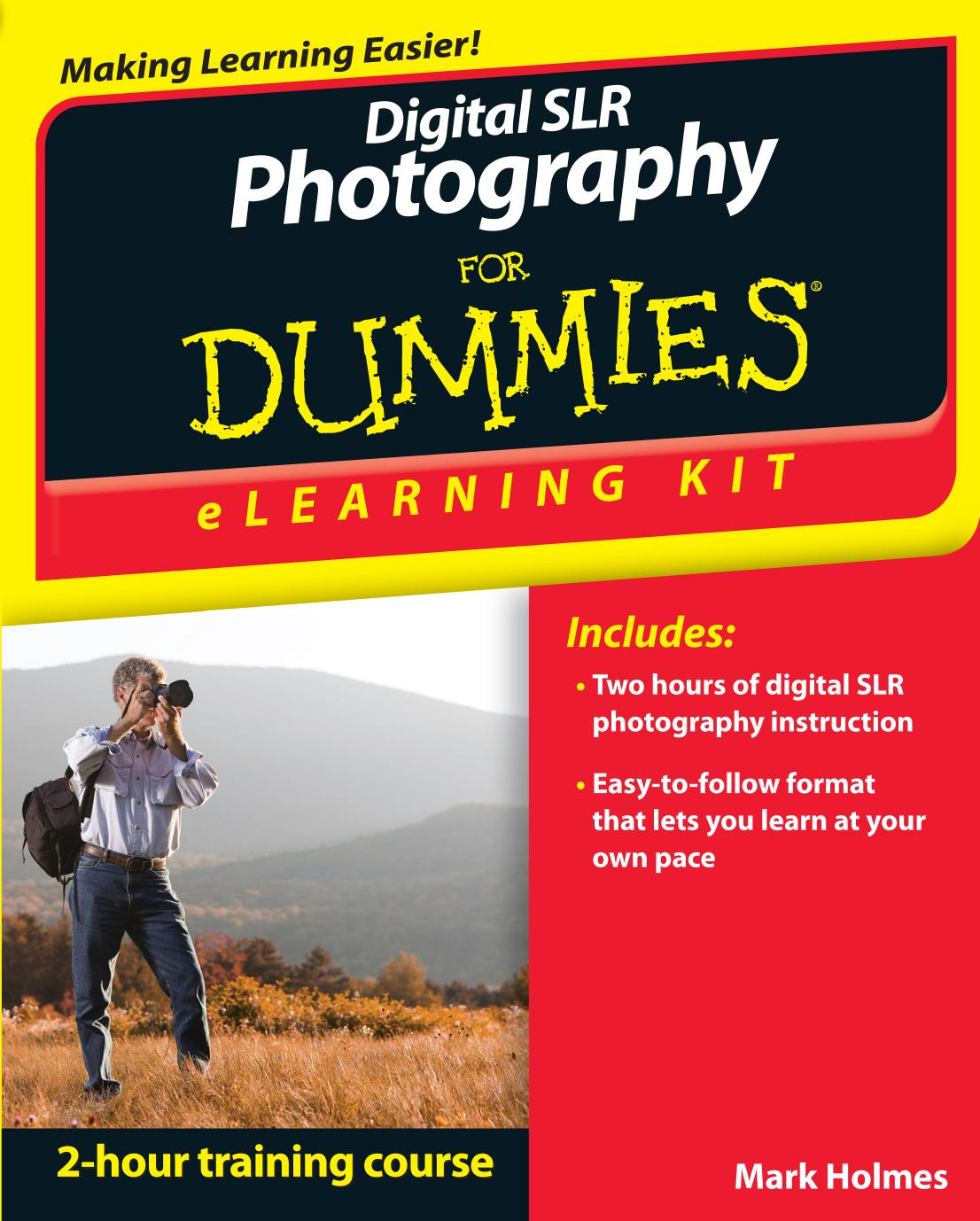 40 Latest Digital slr cameras and photography for dummies book dvd bundle