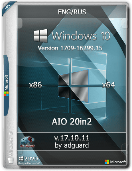 Download Windows 10, Version 1709 with Update (x86-x64) AIO (20in2