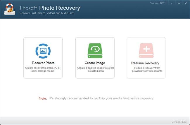 Jihosoft Photo Recovery 8.23