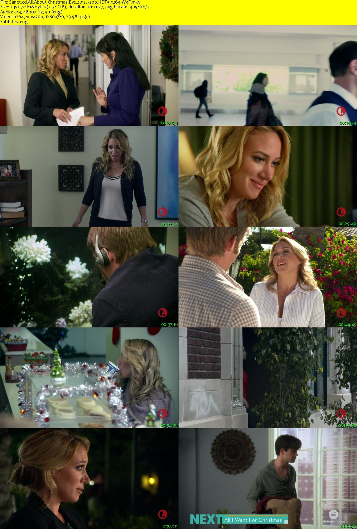 All About Christmas Eve.Download All About Christmas Eve 2012 720p Hdtv X264 W4f