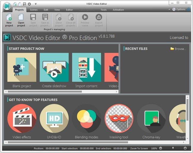 VSDC Video Editor Pro 5.8.1.788/789 (x86/x64) Multilingual