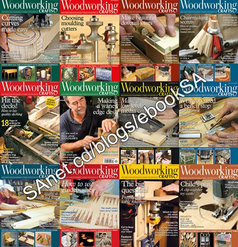 Download Woodworking Crafts Magazine 2017 Full Year Issues