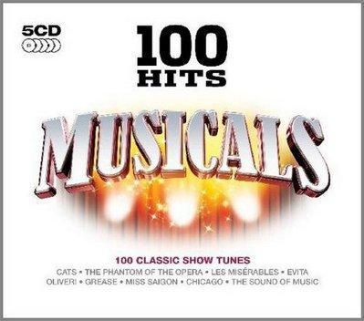 100 Hits: Musicals (5CD Box Set) (2009).mp3 320 kbps