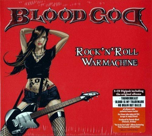 Blood God Rock n Roll Warmachine BoxSet 2017