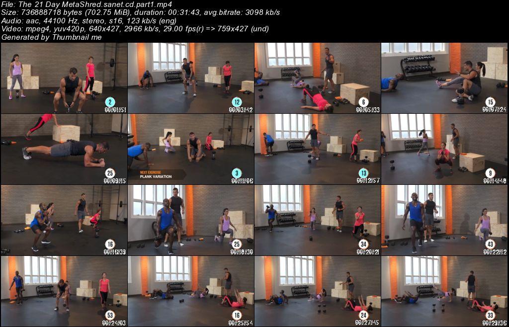 21 day metashred workout pdf