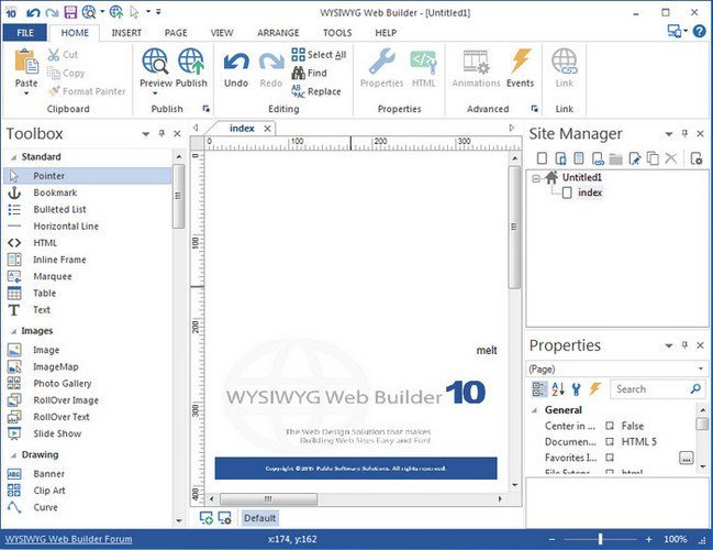 WYSIWYG Web Builder 12.2.1 Portable