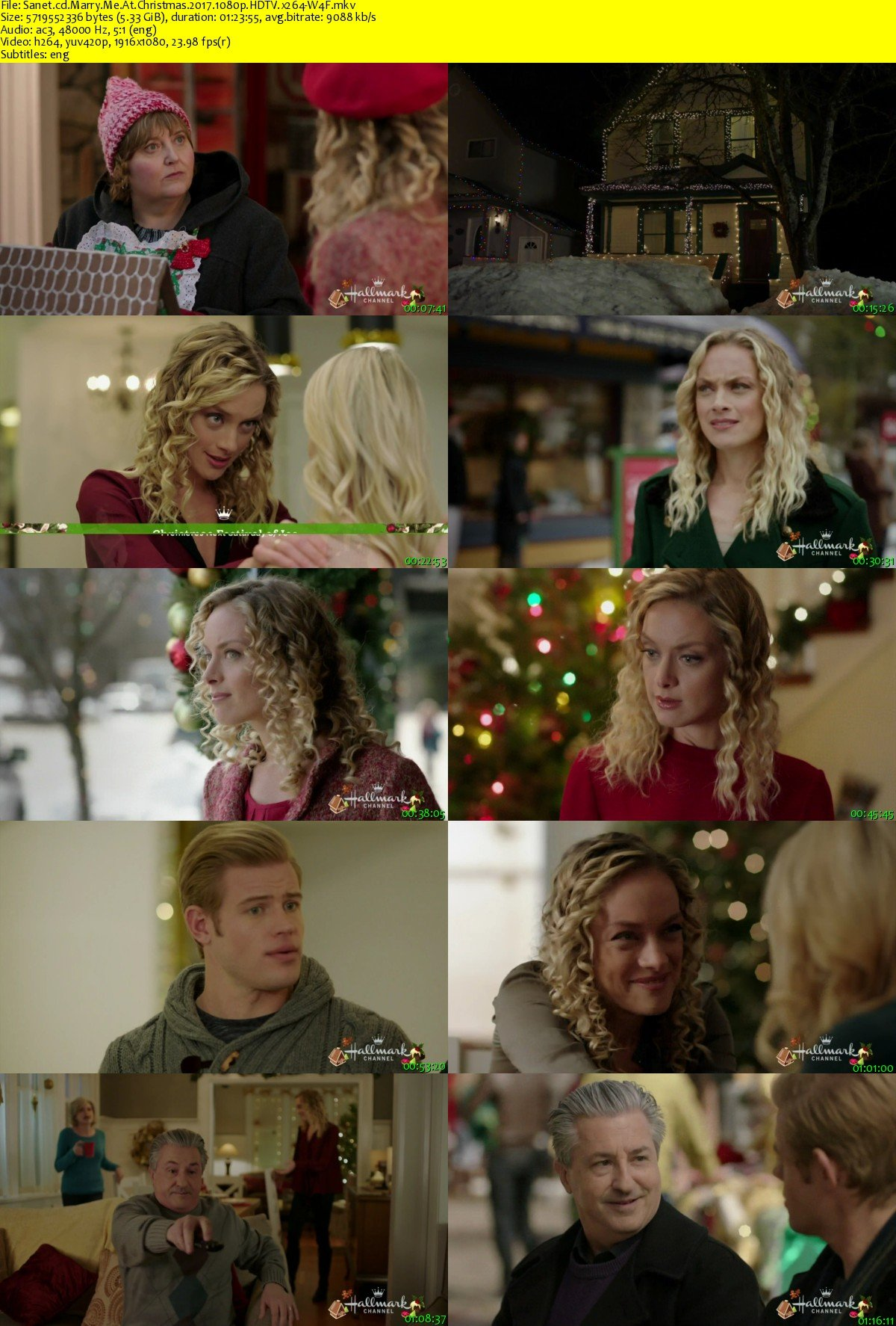 Marry Me At Christmas.Download Marry Me At Christmas 2017 1080p Hdtv X264 W4f