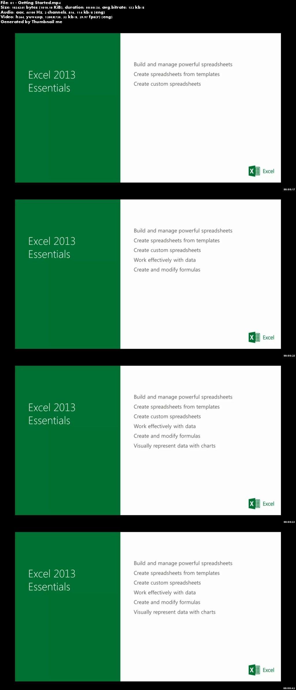 Download Microsoft Virtual Academy - Microsoft Excel 2013