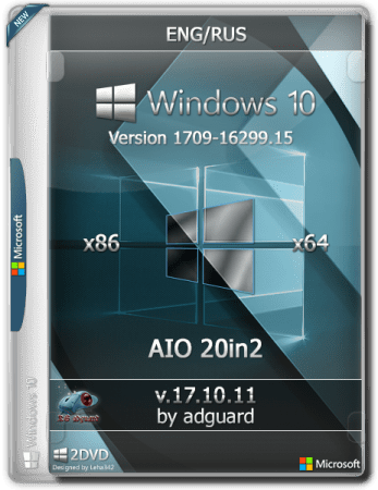 Windows 10, Version 1709 with Update (x86-x64) AIO (20in2) ADGUARD