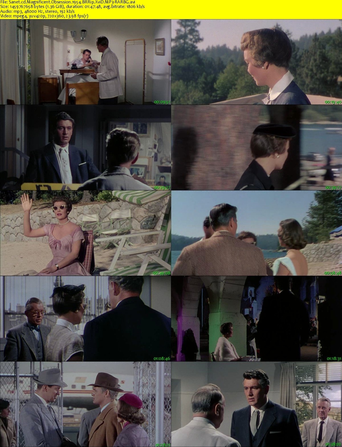 Download Magnificent Obsession 1954 BRRip XviD MP3-RARBG