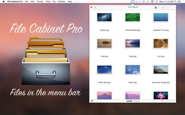 File Cabinet Pro 6.5 macOS