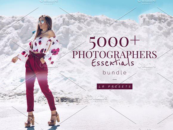 CreativeMarket - 5000+ Lightroom Preset Bundle 1942750