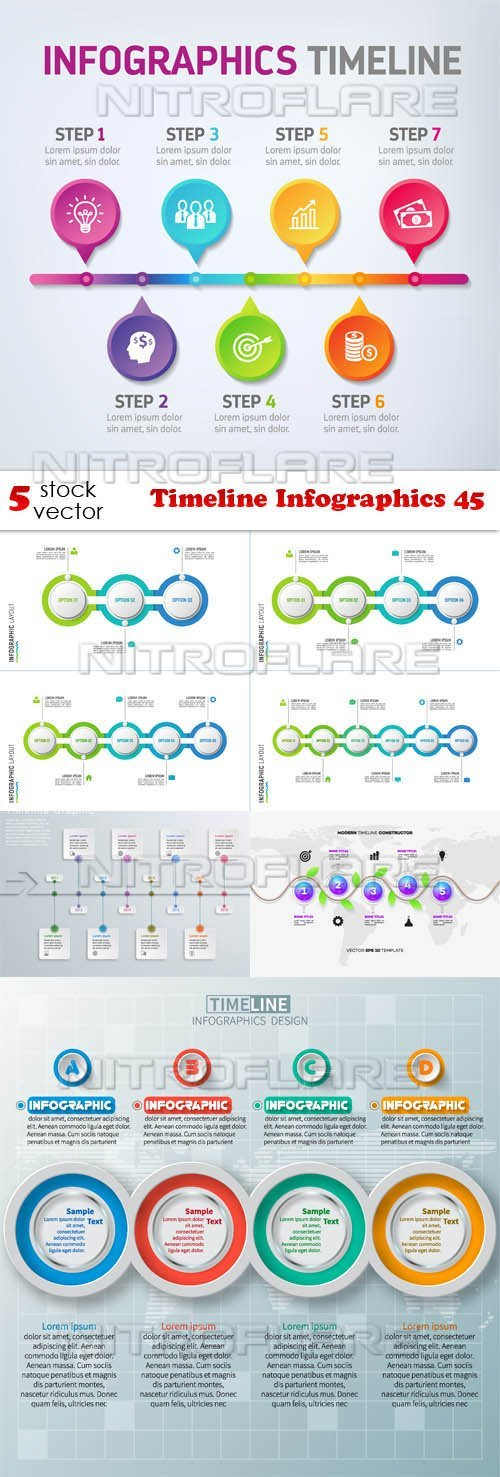 Infographic timeline creator