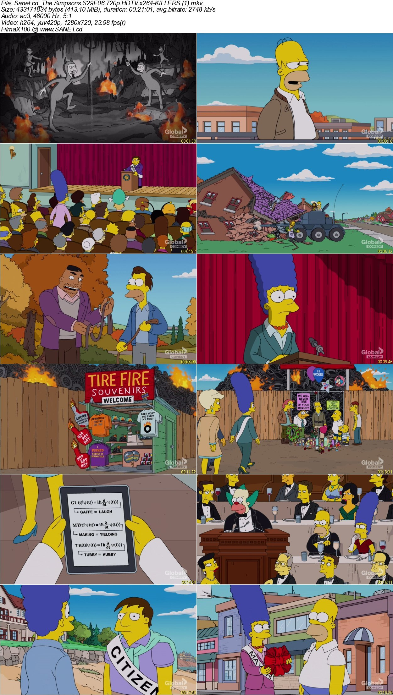 the simpsons s29e06