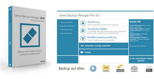 Portable Genie Backup Manager Home 9.0.567.891