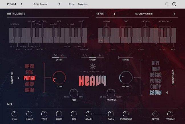 uJAM Virtual Drummer HEAVY 1.0.0.932