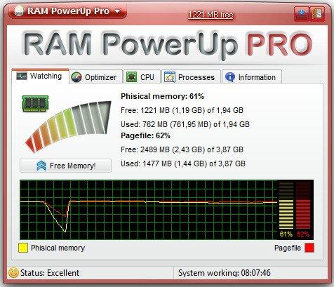 RAM PowerUp Pro 0.1.2.831 Multilingual