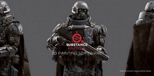 Allegorithmic Substance Painter (x64) 2017.4.0.1943