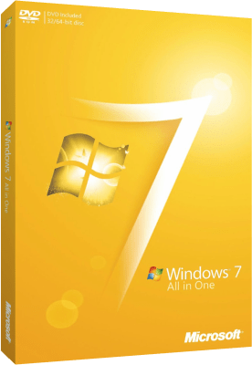 Microsoft Windows 7 SP1 AIO 9 in 1 Aprile 2018
