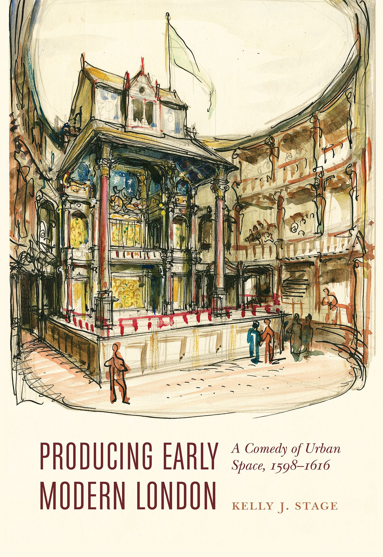Download Producing Early Modern London A Comedy Of Urban