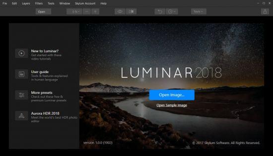 Luminar 2018 1.1.0.1235 (x64) Portable