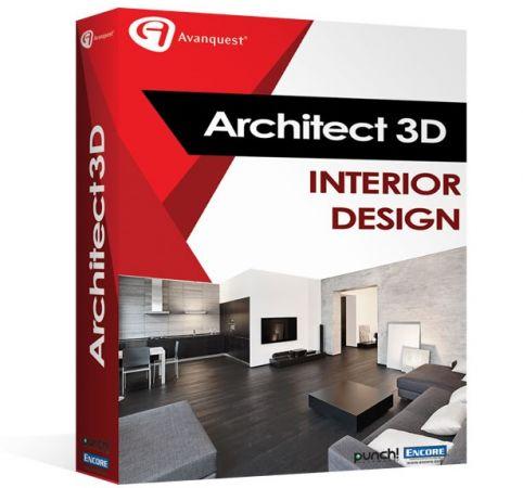Avanquest Architect 3D Interior Design 2017 19.0.8.1022