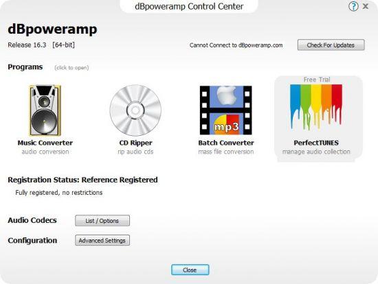 dBpoweramp Music Converter R16.3 Reference