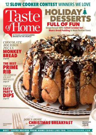 Taste of Home - December 2017 (True PDF)