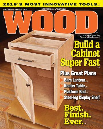 WOOD Magazine - December 2017 (True PDF)