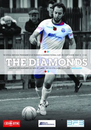 AFC Rushden & Diamonds Matchday Programme - 17 November 2017
