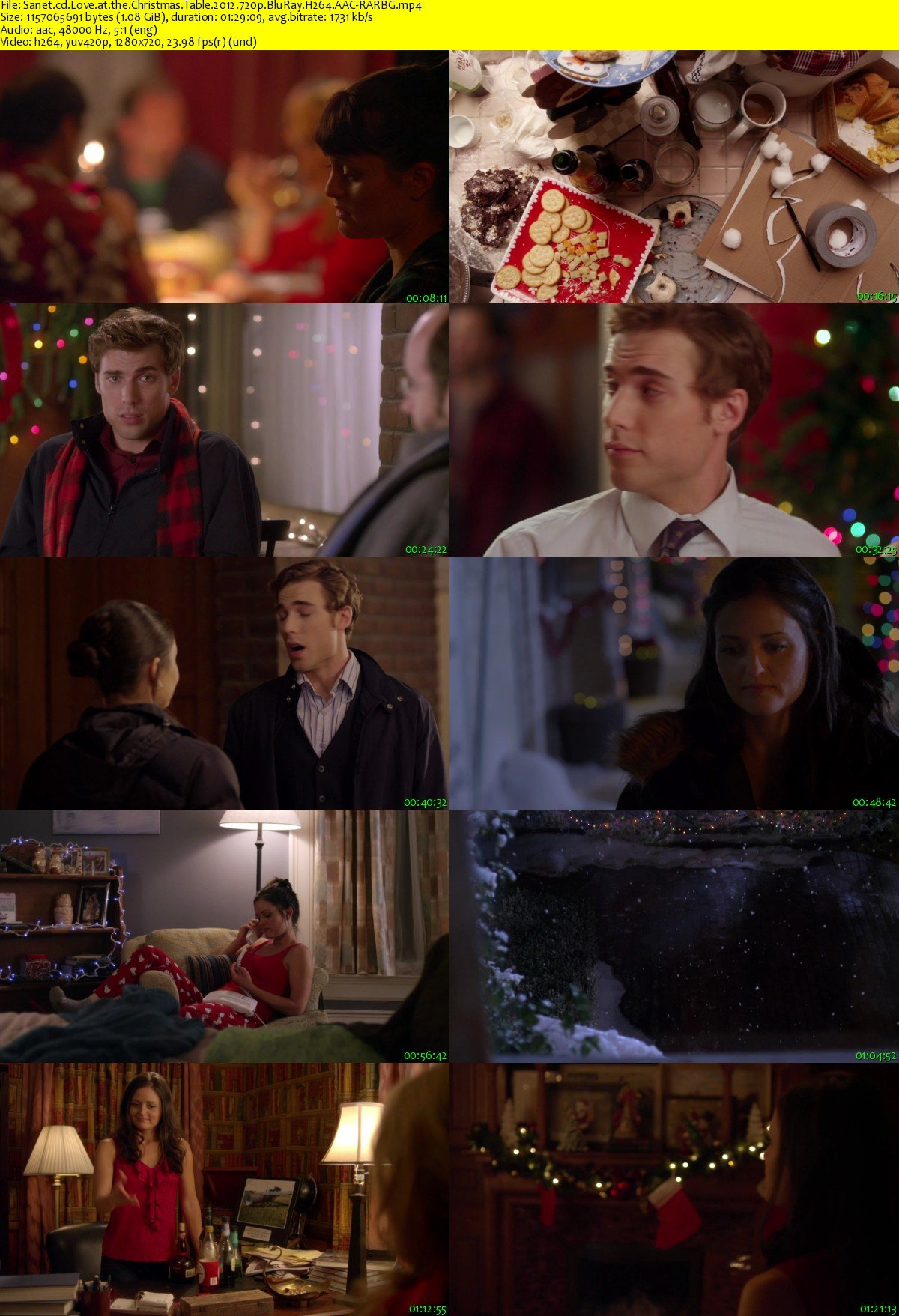 Love At The Christmas Table.Download Love At The Christmas Table 2012 720p Bluray H264