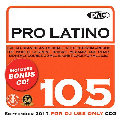 VA - DMC Pro Latino Vol 105 (2017)