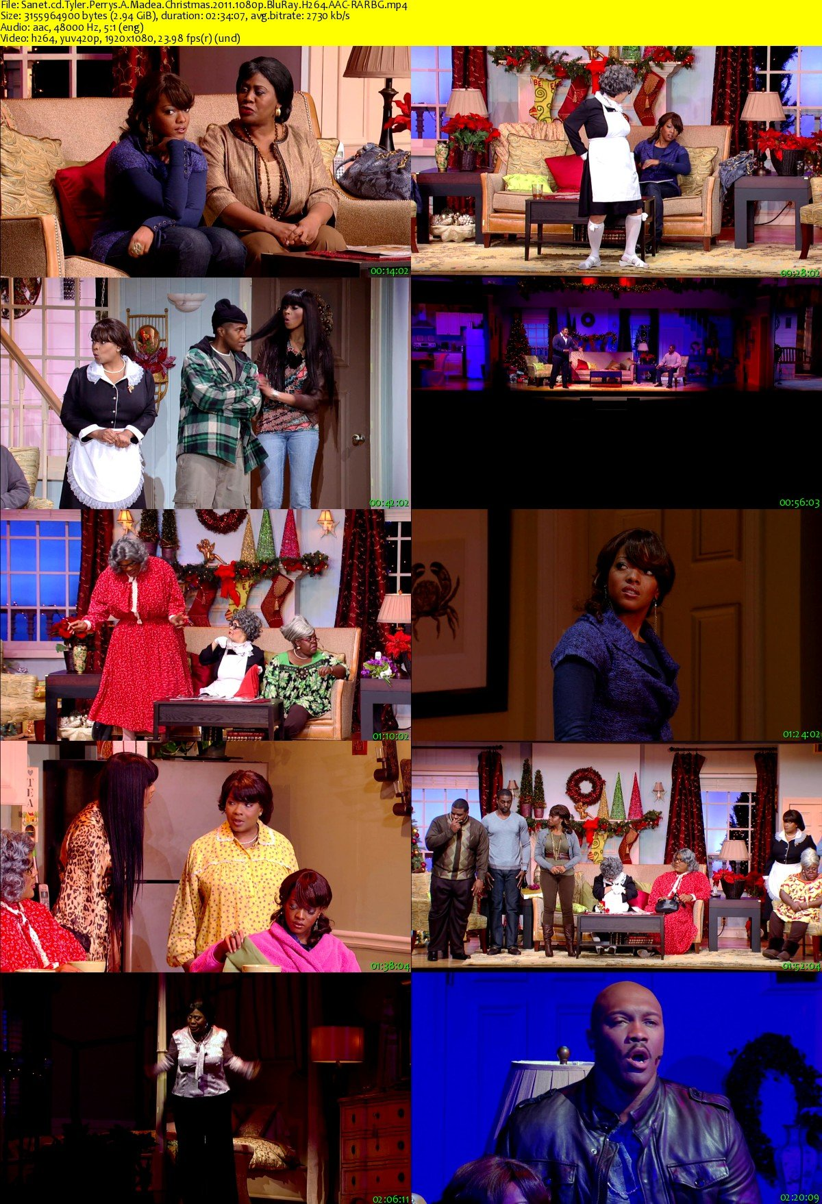 Madea Christmas Full Play.Download Tyler Perrys A Madea Christmas 2011 1080p Bluray