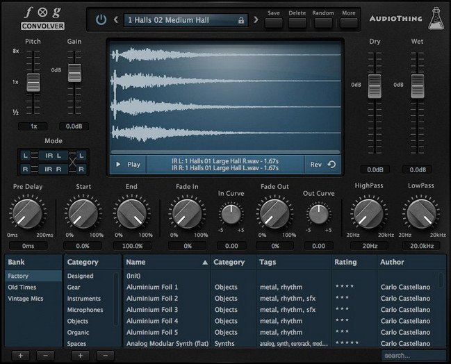 AudioThing Fog Convolver 1.5.1