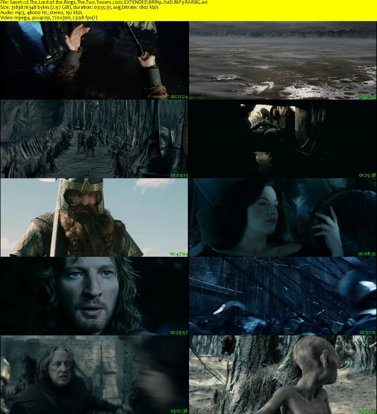 Lord Of The Rings Two Towers Mp Free Download