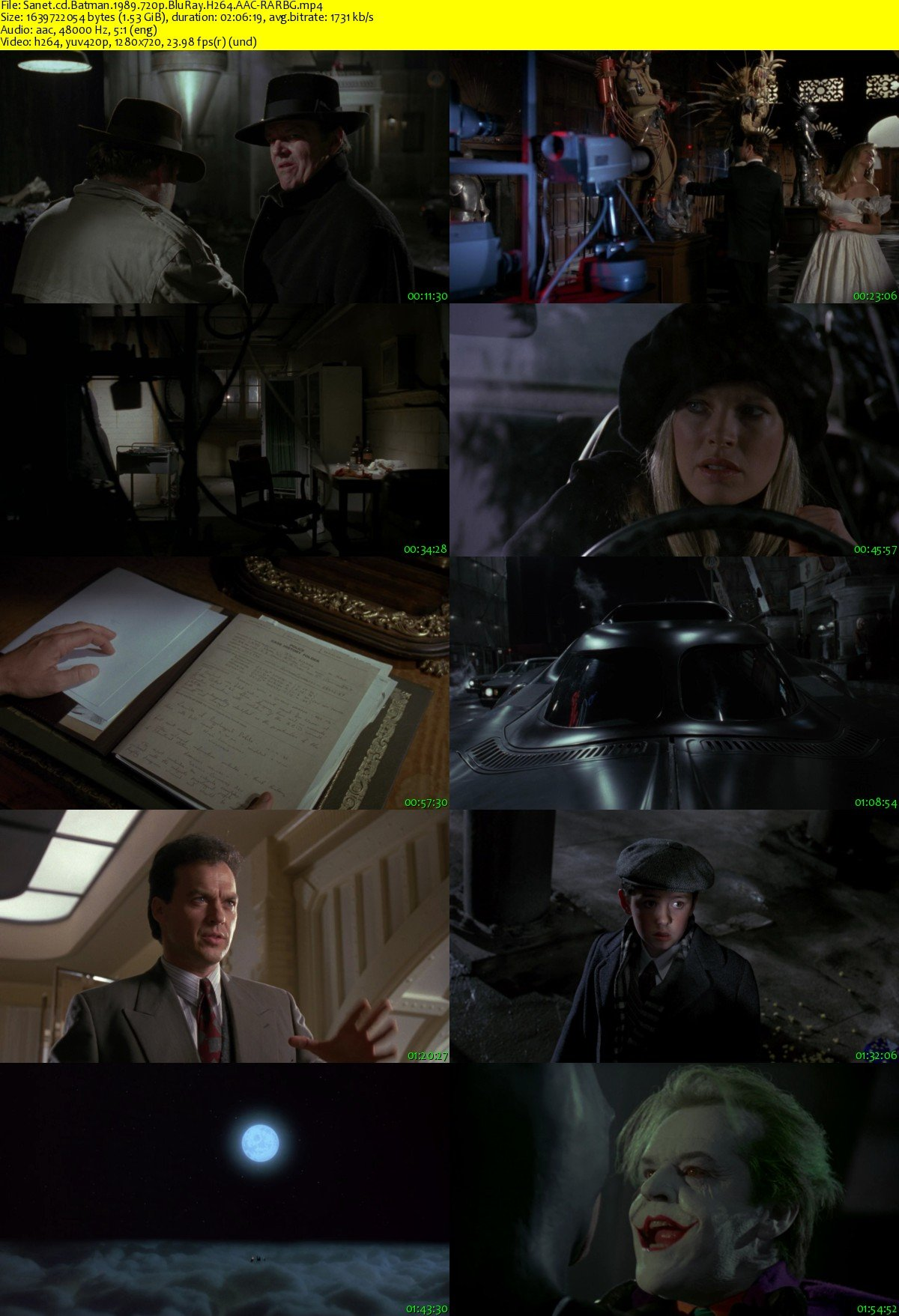 Download Batman 1989 720p BluRay H264 AAC-RARBG - SoftArchive