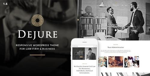 ThemeForest - Dejure v1.5.10 - Responsive WP Theme for Law firm & Business - 11228701