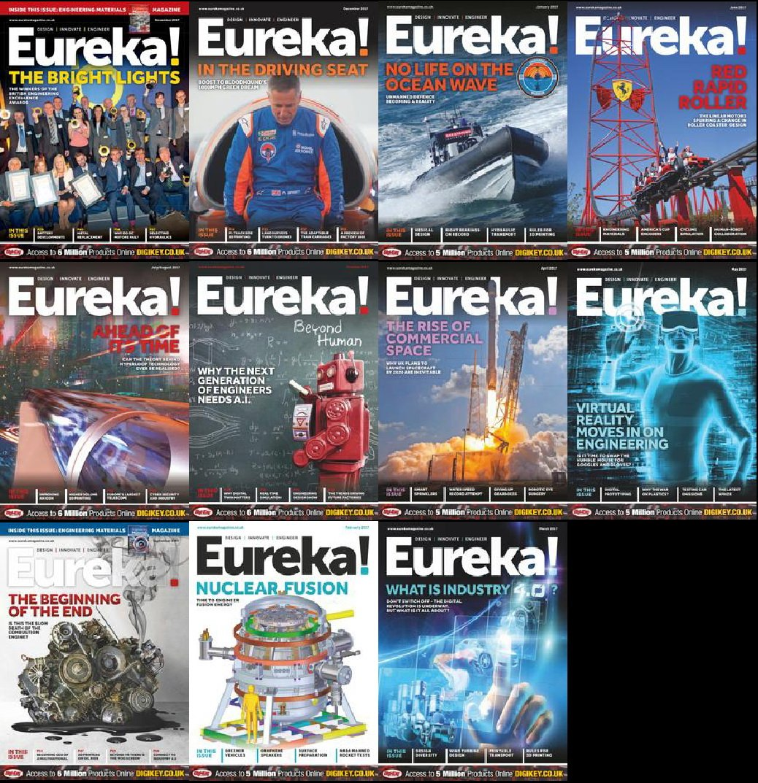 Download Eureka Magazine - Full Year 2017 Collection