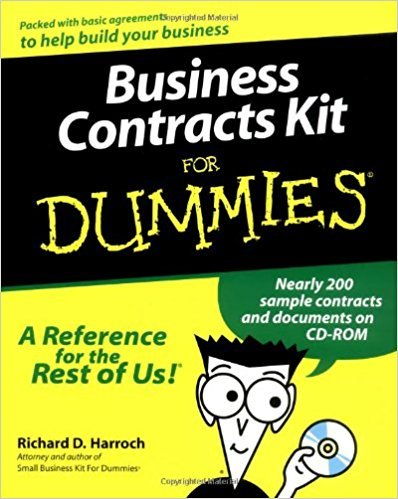 Richard D. Harroch  – Business Contracts Kit For Dummies