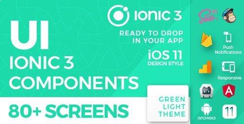 Download CodeCanyon - Ionic 3 UI Theme / Template App - iOS