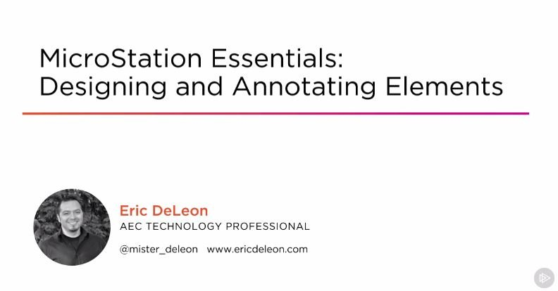 Download MicroStation Essentials: Designing and Annotating