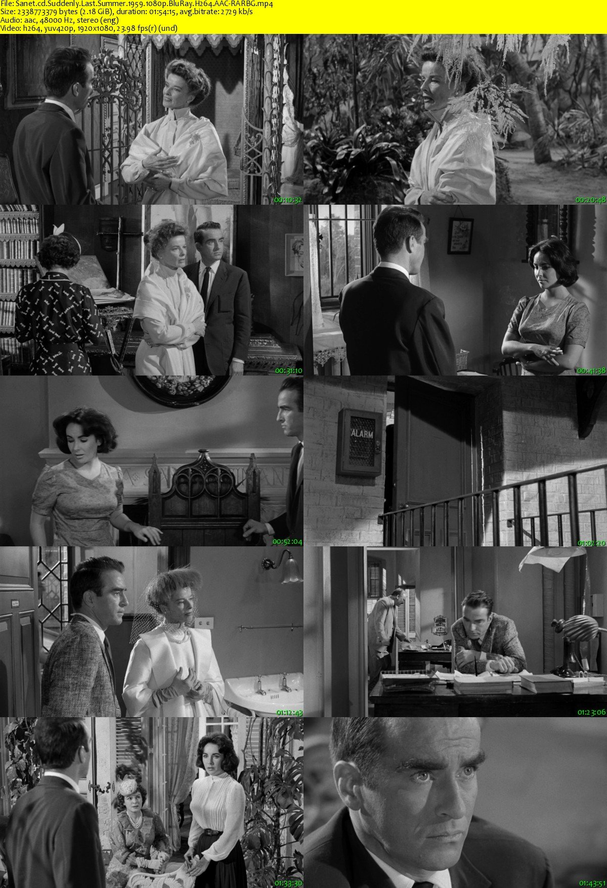 suddenly last summer Suddenly, last summer blu-ray (limited edition to 3000) (1959): starring elizabeth taylor (i), katharine hepburn and montgomery clift after witnessing her cousin's.