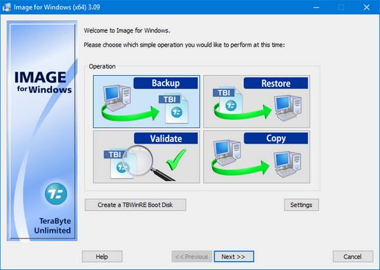 TeraByte Drive Image Backup & Restore Suite 3.14