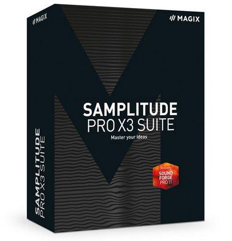 MAGIX Samplitude Pro X3 Suite 14.2.0.296