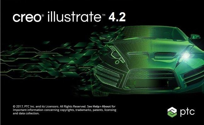 PTC Creo Illustrate 4.2 F000 Multilingual