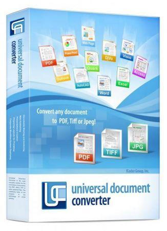 Universal Document Converter 6.8.1712.15160 Multilingual