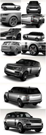 Range Rover SVAutobiography Dynamic 3D Models