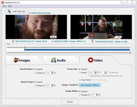 VideoDetach Pro 1.2.9 Portable